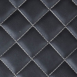 Black with white stitching - Luxury